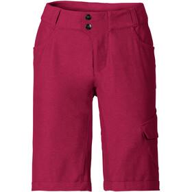 VAUDE Tremalzo II Shorts Women crimson red